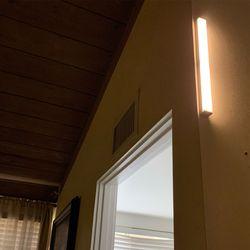 이엘이디 이오공감 무선 센서등 LED 모션감지 붙이는 현관 210mm
