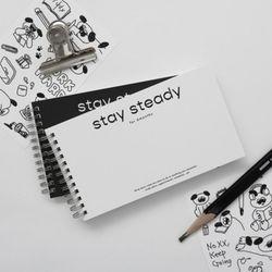 NEMO stay steady 스터디플래너 (6개월) 스프링형 스켸줄