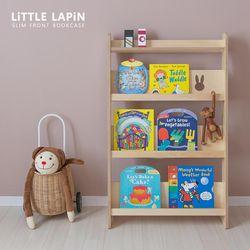 [꼬메모이]리틀라핀 슬림형 전면책장 내츄럴 자작나무 유아 가구