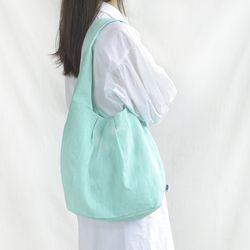 Gwanyu shoulderbag-Pastel peacock blue