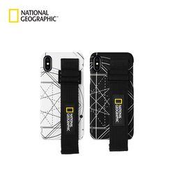 내셔널지오그래픽 아이폰7+ 스트랩 슬림핏 로고 패치 케이스