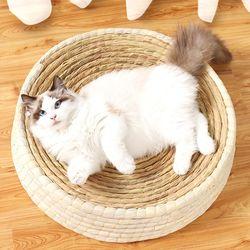 고양이 꾹꾹이 방석 중형 35cm 스크래처 고양이용품