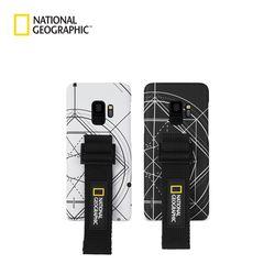 내셔널지오그래픽 갤럭시노트9 스트랩 슬림핏 로고 패치 케이스