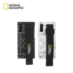 내셔널지오그래픽 갤럭시노트10+ 스트랩 슬림핏 로고패치 케이스