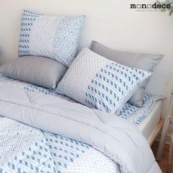 사계절 북유럽 패턴 침구 커버 밀키 베개커버 50X70