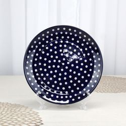 폴란드그릇 아티스티나 원형접시25cm 대접시 패턴70a