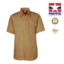 프로퍼 라이트웨이트 택티컬 반팔 셔츠 (코요테)