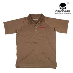 에머슨 기어 폴로 속건성 반팔 티셔츠 (코요테)