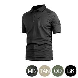 네오 택티컬 택티컬 카라 반팔 티셔츠 TS-65