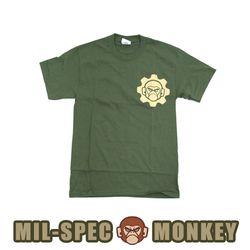 밀스펙 몽키 데스 메카닉 반팔 티셔츠 (OD)