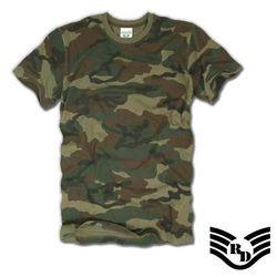 라피드 도미넌스 슬림핏 티셔츠 (우드랜드)