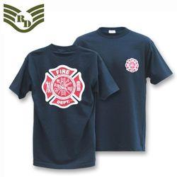 라피드 도미넌스 소방국 티셔츠 (네이비)
