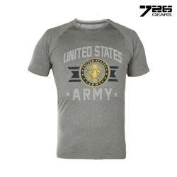 726 기어 미육군 기능성 티셔츠 (그레이)