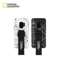 내셔널지오그래픽 갤럭시S9 스트랩 더블 로고 패치 케이스