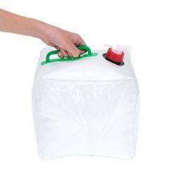 대용량 접이식 캠핑용 이동식 물통 워터백 10L