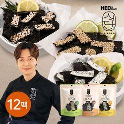 [무료배송] [허닭식단] 바삭한 김스낵 20g 3종 12팩