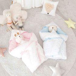 아기 겉싸개 신생아 속싸개 순면 포대기 2color 90X90
