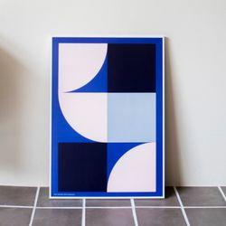 포스터 STAY AROUNDBLUE 30x4050x70