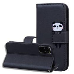 갤럭시S20FE 애니멀 카드 포켓 심플 가죽 케이스 P519
