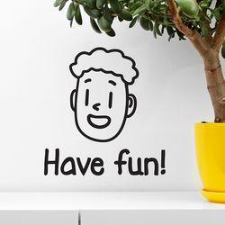 Have fun 귀여운 인테리어 스티커 small