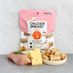 더독 오븐애 구운 한입 닭가슴살 치즈 80g