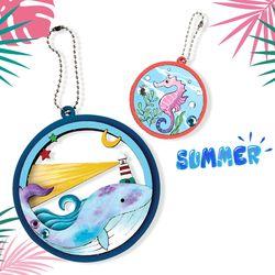 4940 여름입체오너먼트만들기-달빛고래