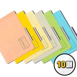 오피스존 문서보관화일 10개입 A4 종이화일 파일 서류 정리