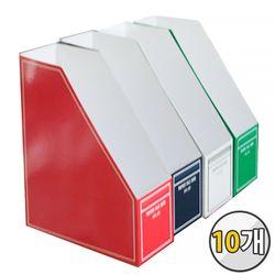 오피스존 RFB-301 종이화일박스 10개 묶음 파일박스 라인 문서
