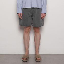 MW736 basic shorts iean gray