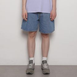MW736 basic shorts iean blue