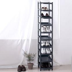 아도라하우스 슬림 신발정리대 10단 블랙