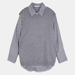 조끼세트셔츠ALBW21330