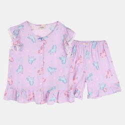 [앙떼떼] 유니콘나시여아잠옷세트110140ATJS21572
