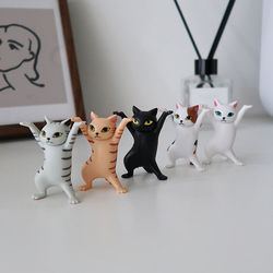 귀여운 고양이 다용도 스탠드 홀더 5p세트