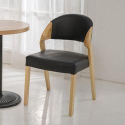 디자인체어 DD060 인테리어의자 PU 원목의자