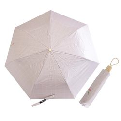 P9706 체크 코팅 우산겸용 3단양산(5color)