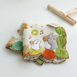 토토로 어린이집 개인 휴대용 손수건(4type)
