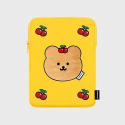 Cherry covy-yellow(아이패드 파우치)