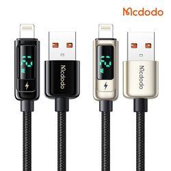 Mcdodo 디스플레이 USB-A to 라이트닝 8핀 고속충전 케이블