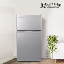 메디하임 1등급 미니 소형 냉장고 원룸 사무실 BCD-95H 실버