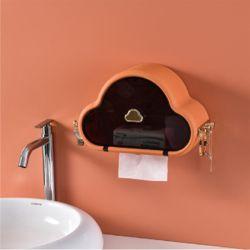 클라우드 벽걸이 휴지디스펜서 휴지케이스(오렌지)