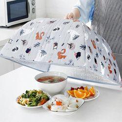 식탁보 음식물 덮개 상보 접어쓰는원터치푸드커버