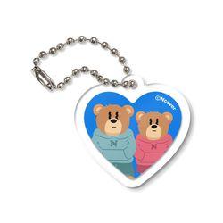 Couple hoodie bruin-blue(keyring)(NEWS4YHF5O)