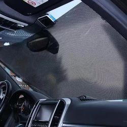 자동차앞유리 자외선 가리개 롤스크린햇빛가리개 2개 (대)
