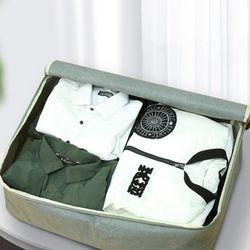린넨 대형 가방 여행용 보조 짐가방 통큰수납정리백 (중)