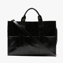 LEATHER 3WAY POCKET BAG (BLACK)(NEWFXQOE7T)
