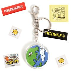 [EZwithPIECE] EARTH KEY RING (CLEAN)(NEW0DZ931N)