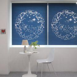 별자리 레이저 암막 롤스크린(125180cm)3color