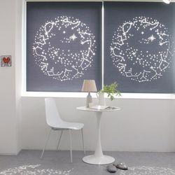 별자리 레이저 암막 롤스크린(125150cm)3color