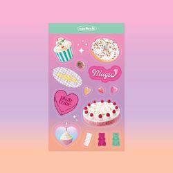 쏘슬러시 콜라주 스티커 - Sweets